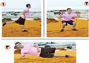 تمرین برای تقویت عضلات و مفاصل و دانشکده فوتبال